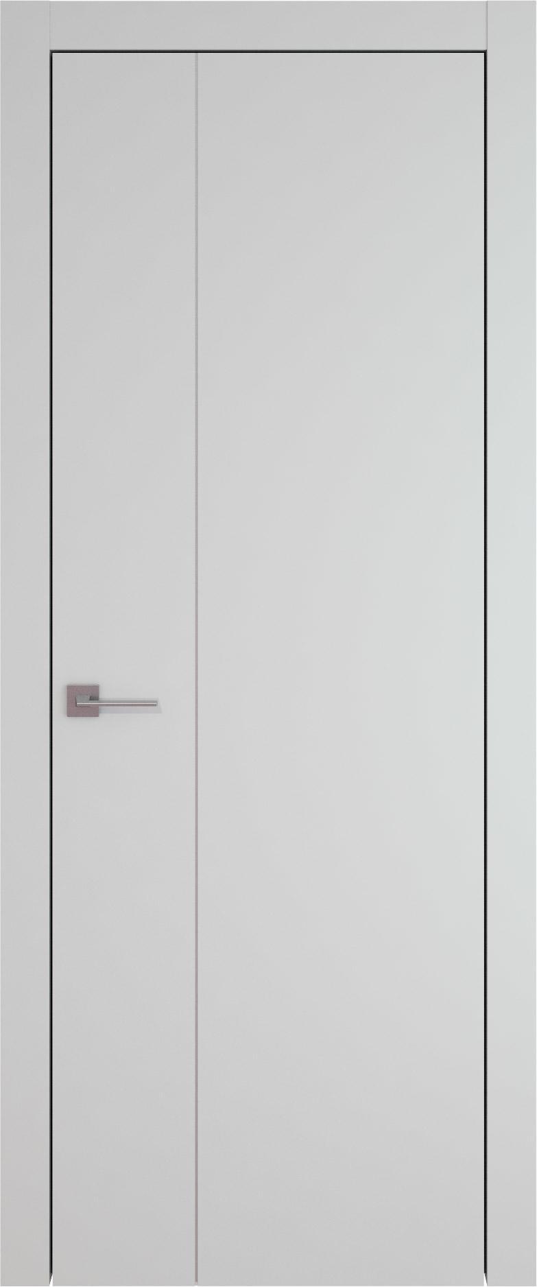 Tivoli В-1 цвет - Серая эмаль (RAL 7047) Без стекла (ДГ)