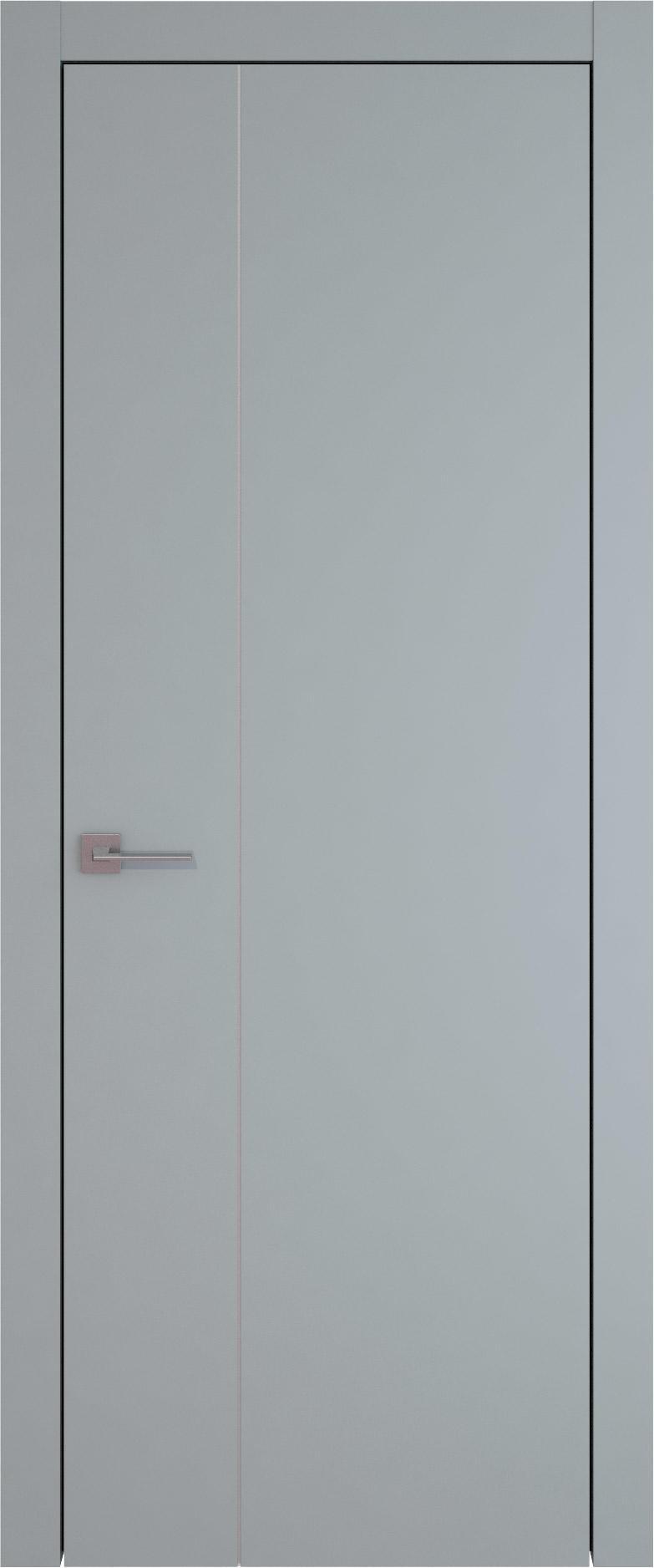Tivoli В-1 цвет - Серебристо-серая эмаль (RAL 7045) Без стекла (ДГ)