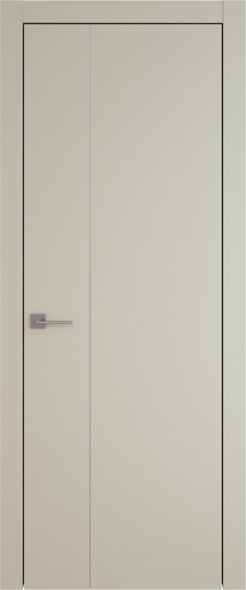 Tivoli В-1 цвет - Серо-оливковая эмаль (RAL 7032) Без стекла (ДГ)