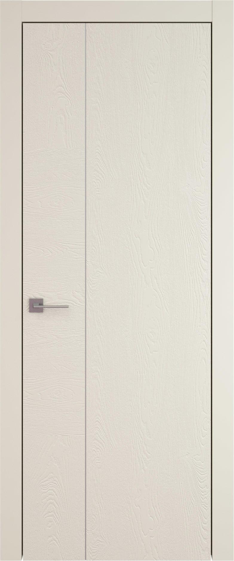 Tivoli В-1 цвет - Жемчужная эмаль по шпону (RAL 1013) Без стекла (ДГ)