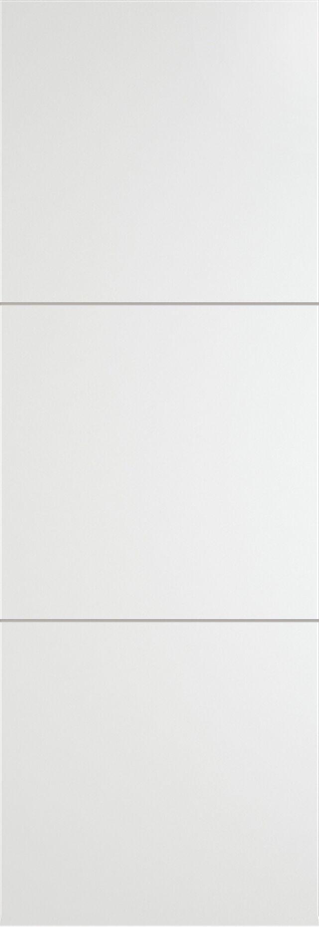 Tivoli В-2 Invisible цвет - Белая эмаль Без стекла (ДГ)