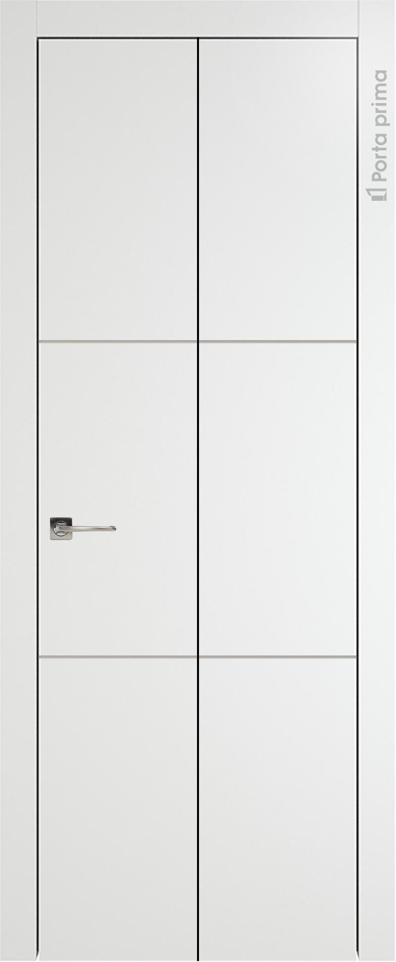Tivoli В-2 Книжка цвет - Белая эмаль Без стекла (ДГ)