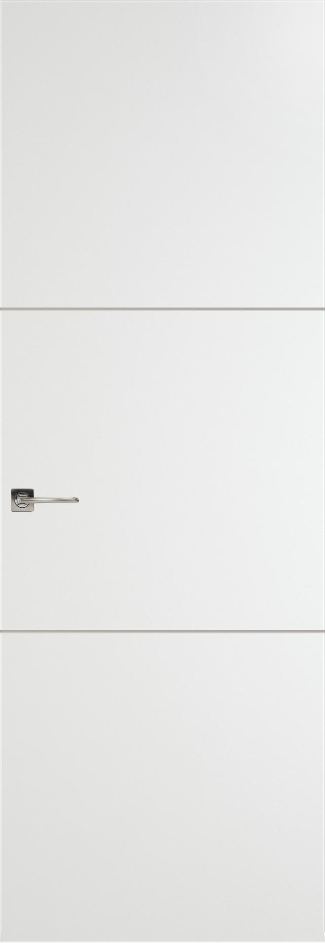 Tivoli В-2 Невидимка цвет - Белая эмаль Без стекла (ДГ)