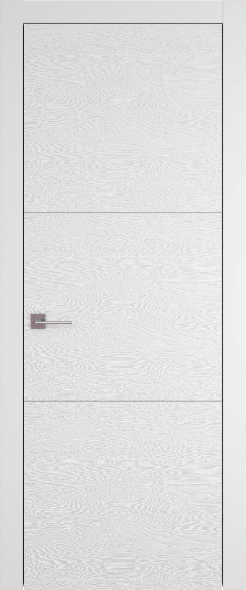 Tivoli В-2 цвет - Белая эмаль по шпону (RAL 9003) Без стекла (ДГ)