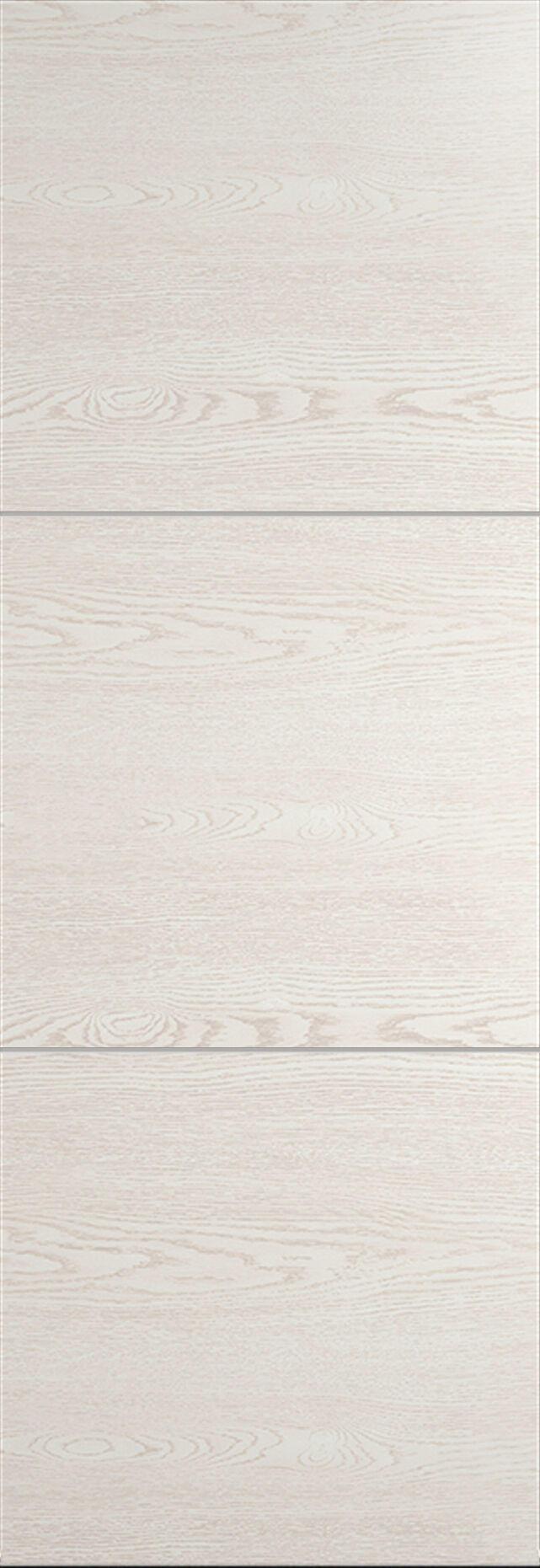 Tivoli В-2 Invisible цвет - Белый ясень Без стекла (ДГ)
