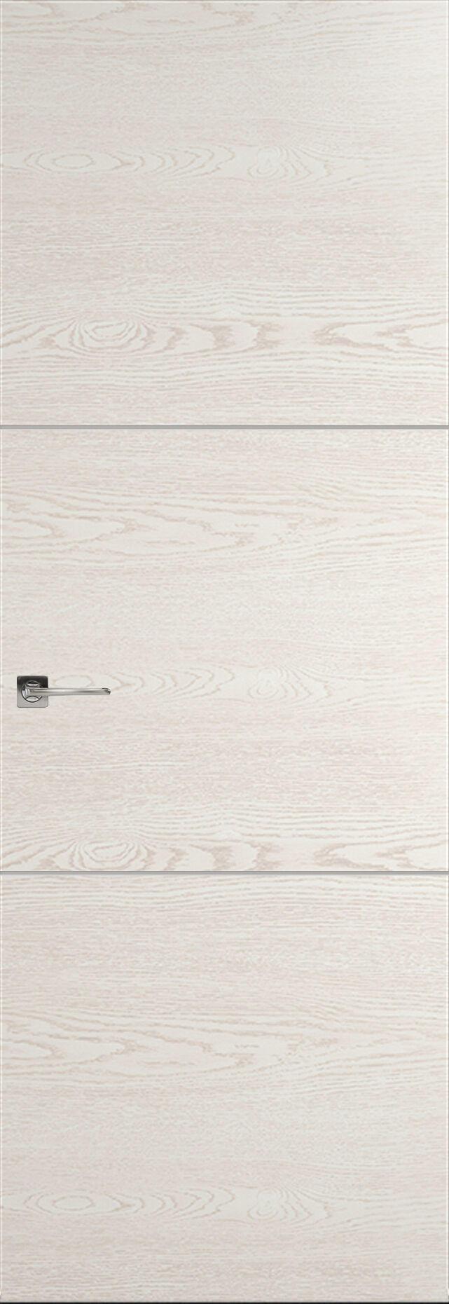 Tivoli В-2 Невидимка цвет - Белый ясень Без стекла (ДГ)