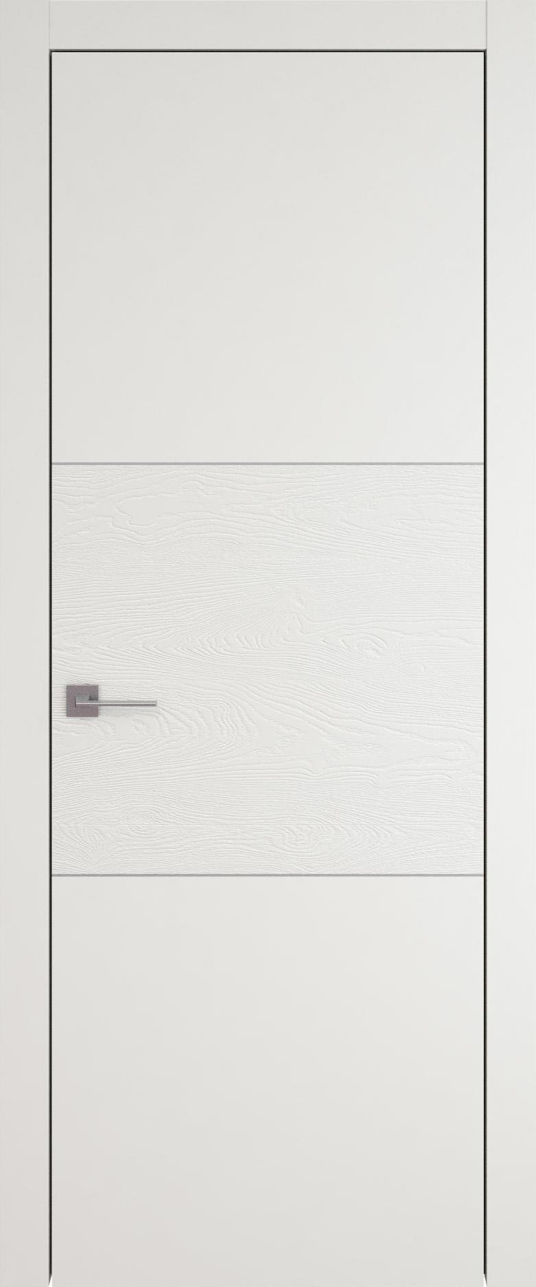 Tivoli В-2 цвет - Бежевая эмаль-эмаль по шпону (RAL 9010) Без стекла (ДГ)
