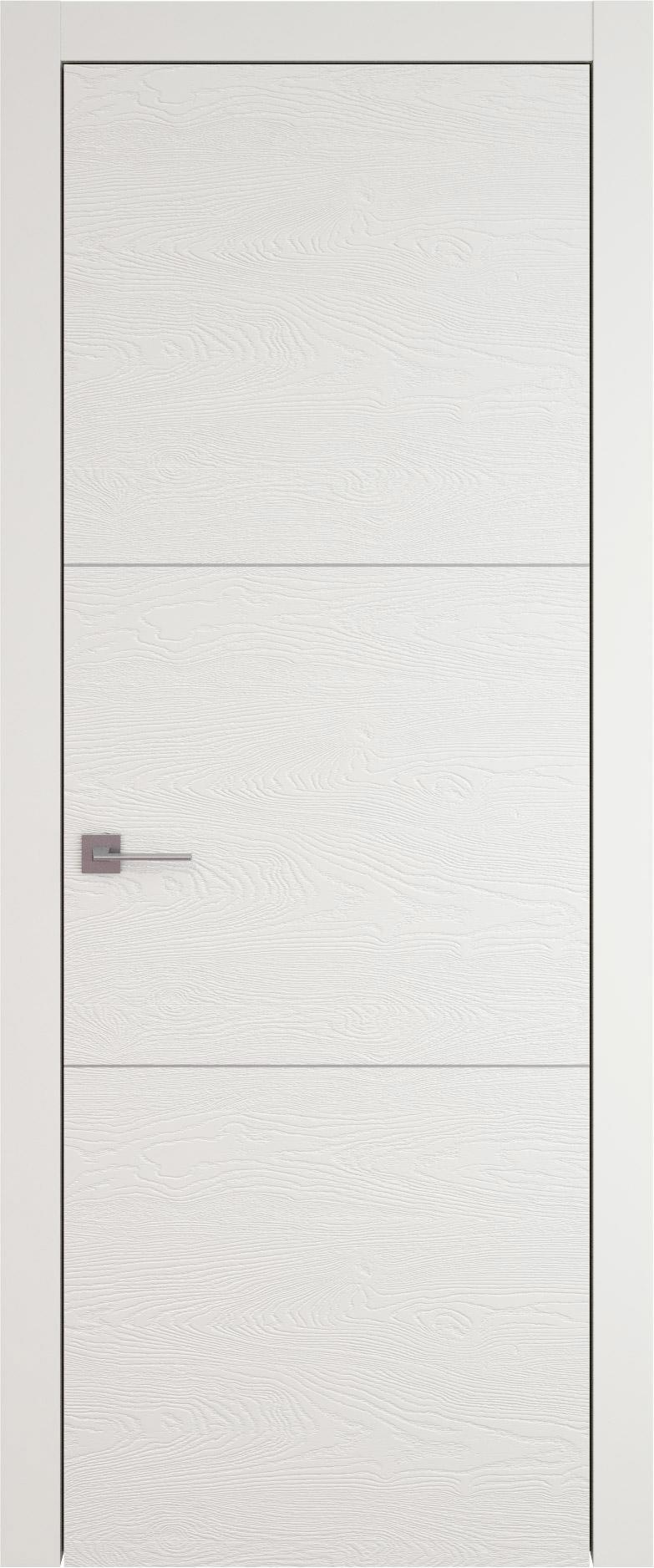 Tivoli В-2 цвет - Бежевая эмаль по шпону (RAL 9010) Без стекла (ДГ)