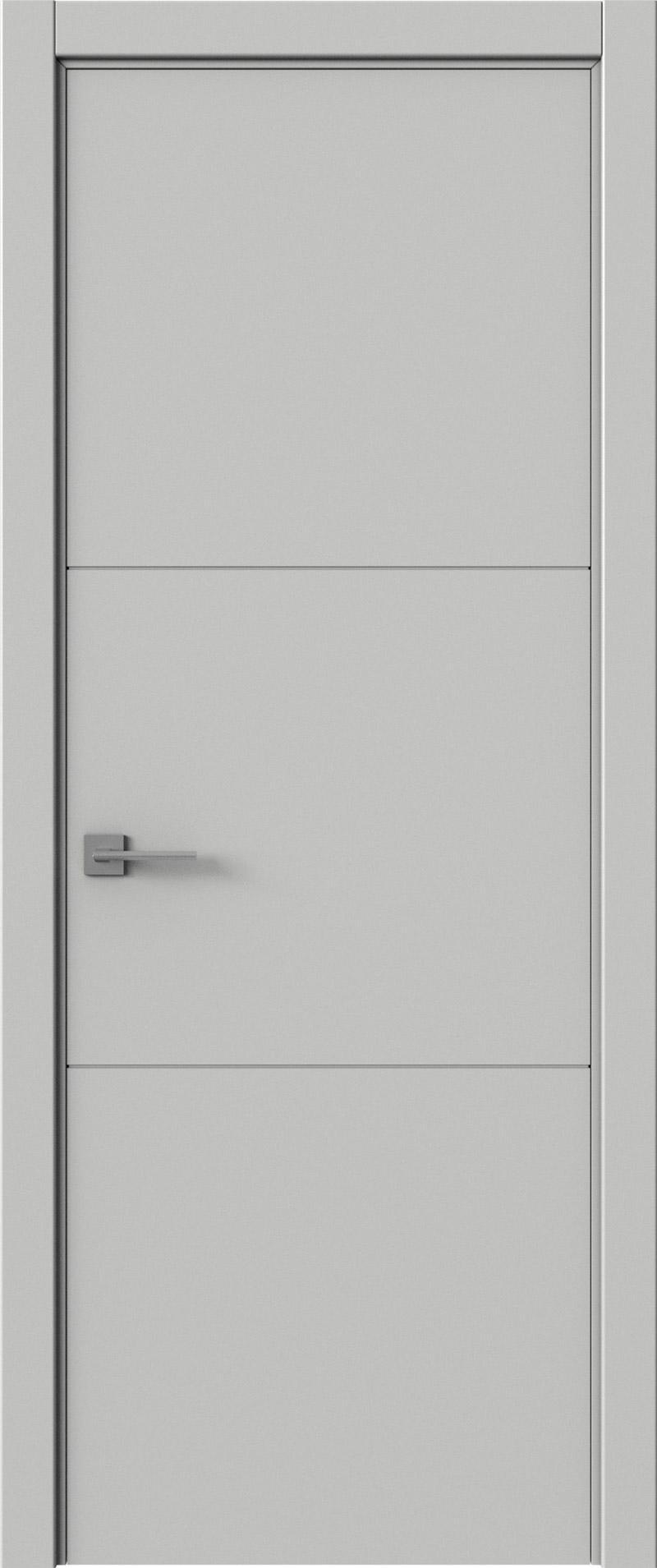 Tivoli В-2 цвет - Серая эмаль (RAL 7047) Без стекла (ДГ)
