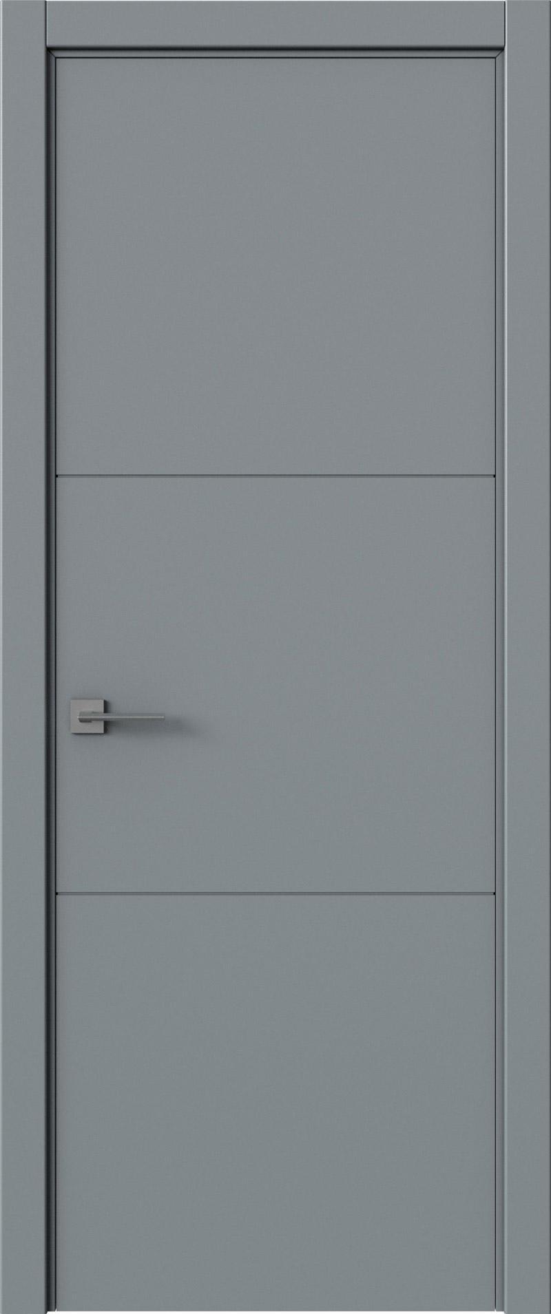 Tivoli В-2 цвет - Серебристо-серая эмаль (RAL 7045) Без стекла (ДГ)