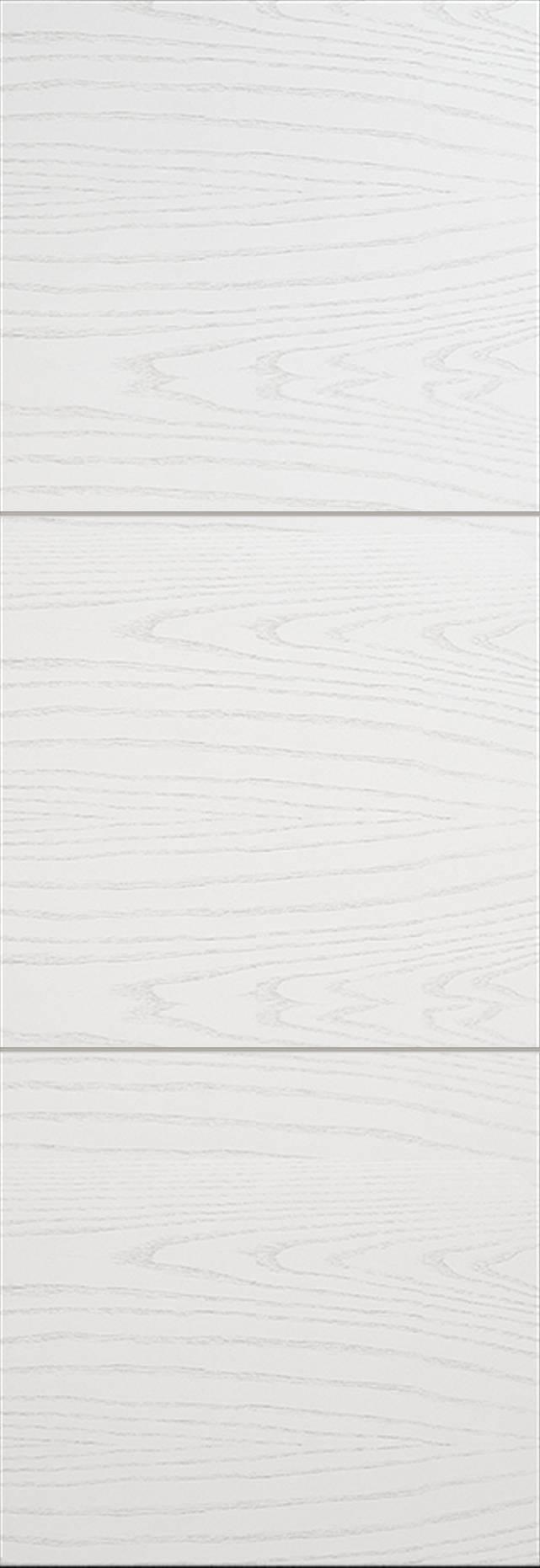 Tivoli В-2 Invisible цвет - Ясень белая эмаль Без стекла (ДГ)