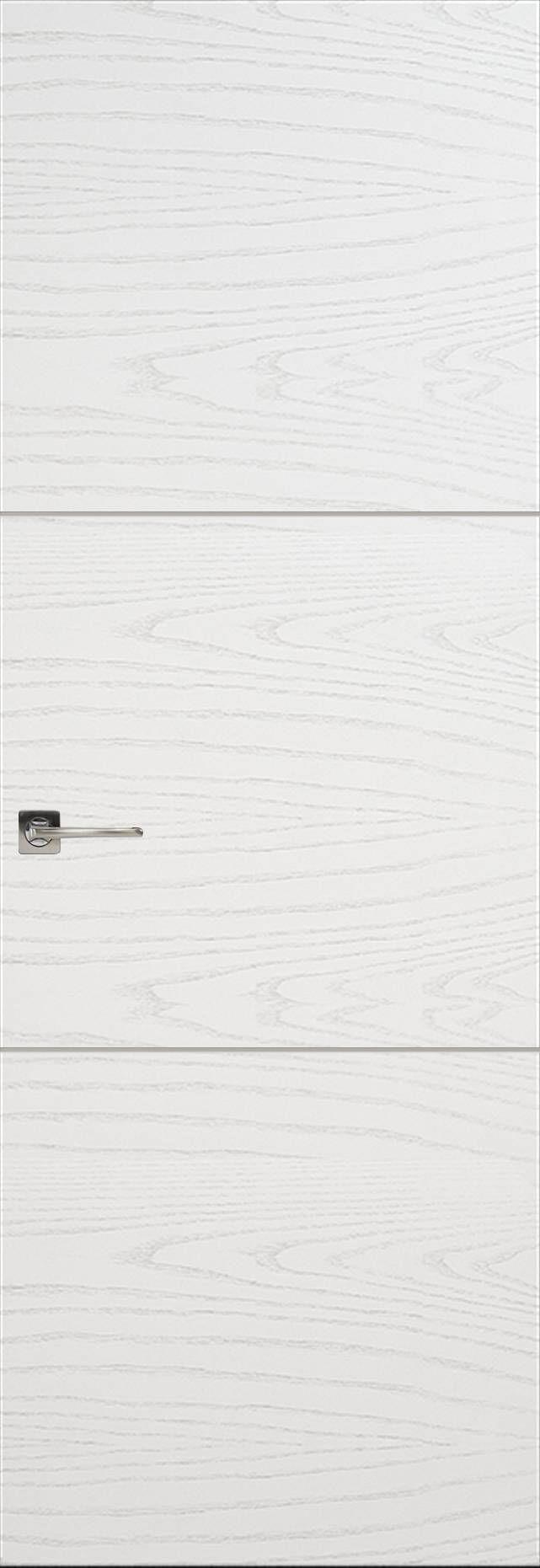 Tivoli В-2 Невидимка цвет - Ясень белая эмаль Без стекла (ДГ)