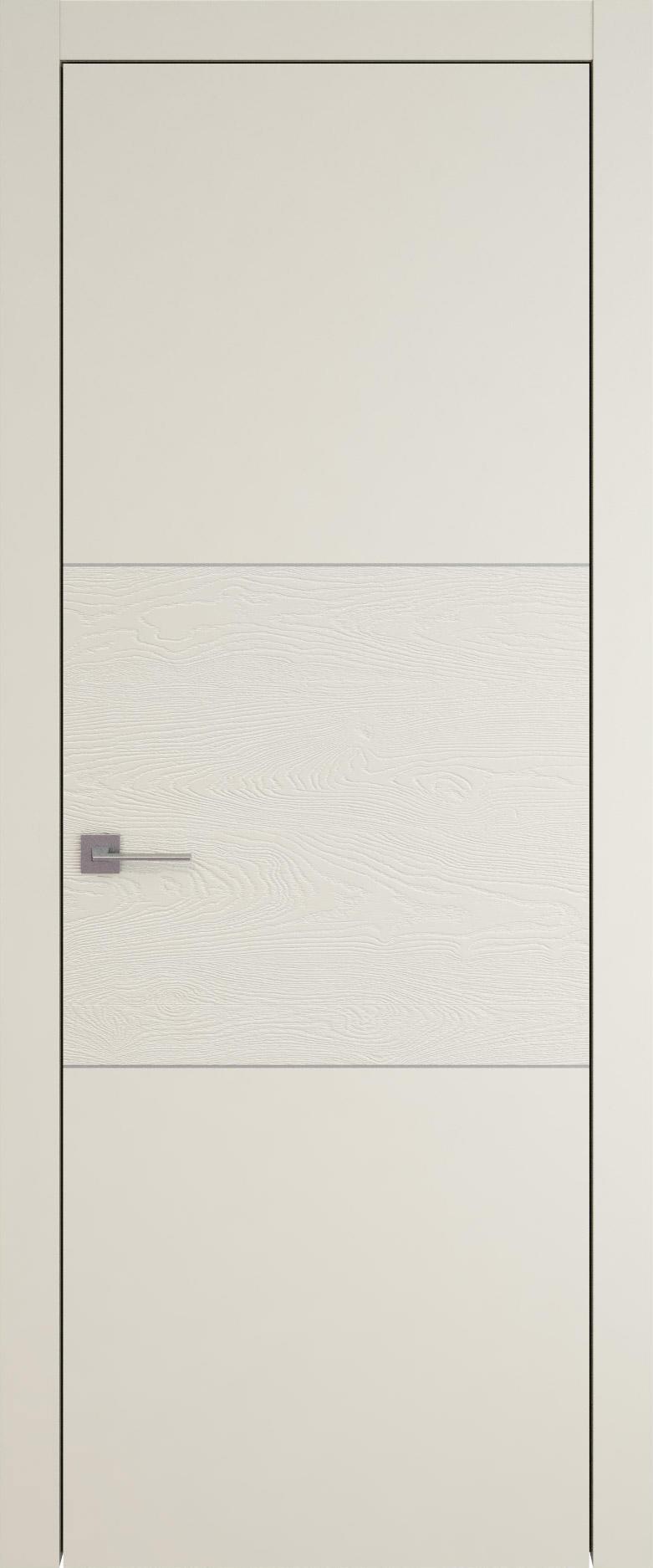 Tivoli В-2 цвет - Жемчужная эмаль-эмаль по шпону (RAL 1013) Без стекла (ДГ)