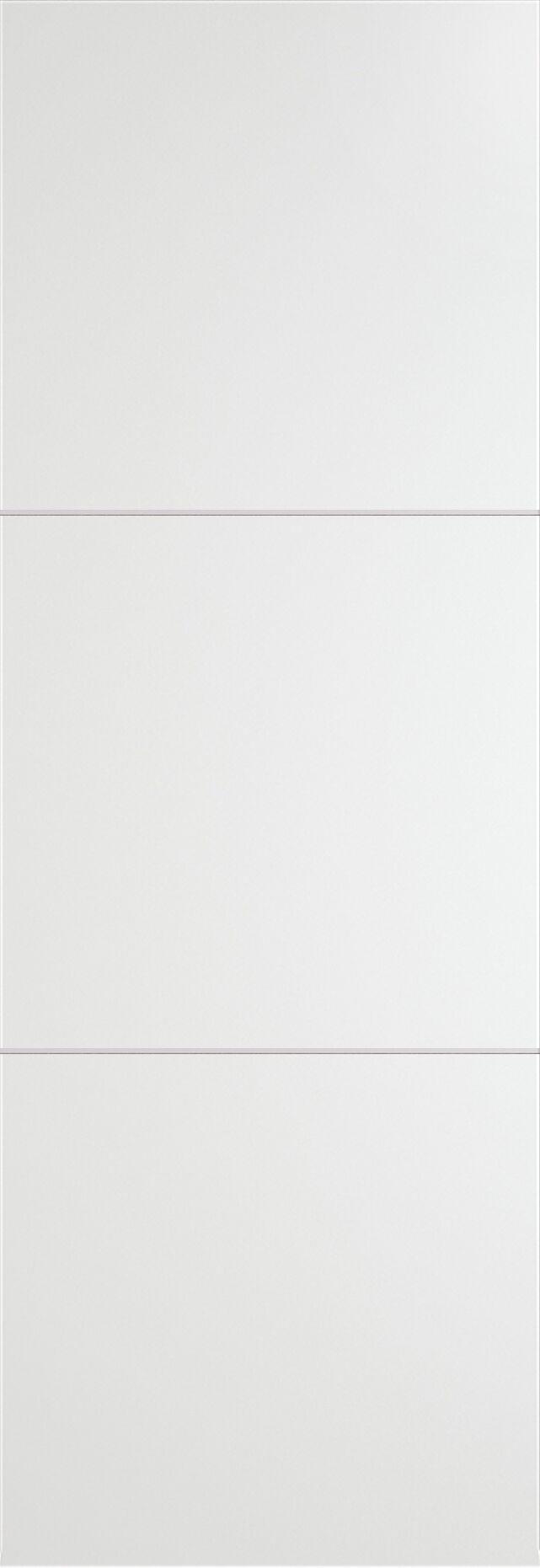 Tivoli В-3 Invisible цвет - Белая эмаль Без стекла (ДГ)
