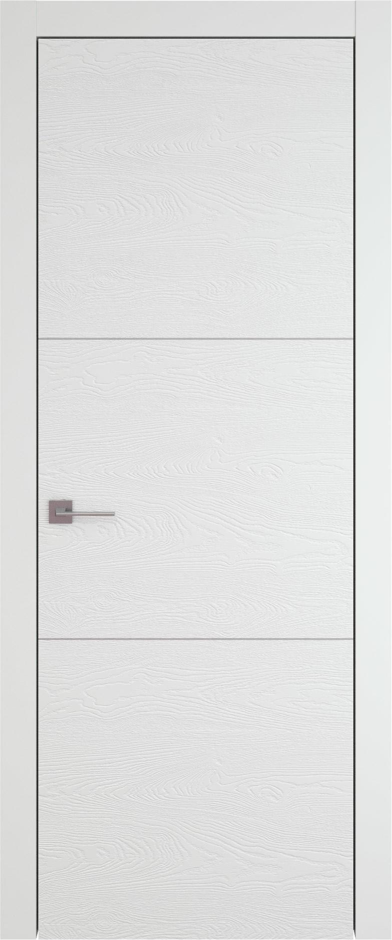 Tivoli В-3 цвет - Белая эмаль по шпону (RAL 9003) Без стекла (ДГ)