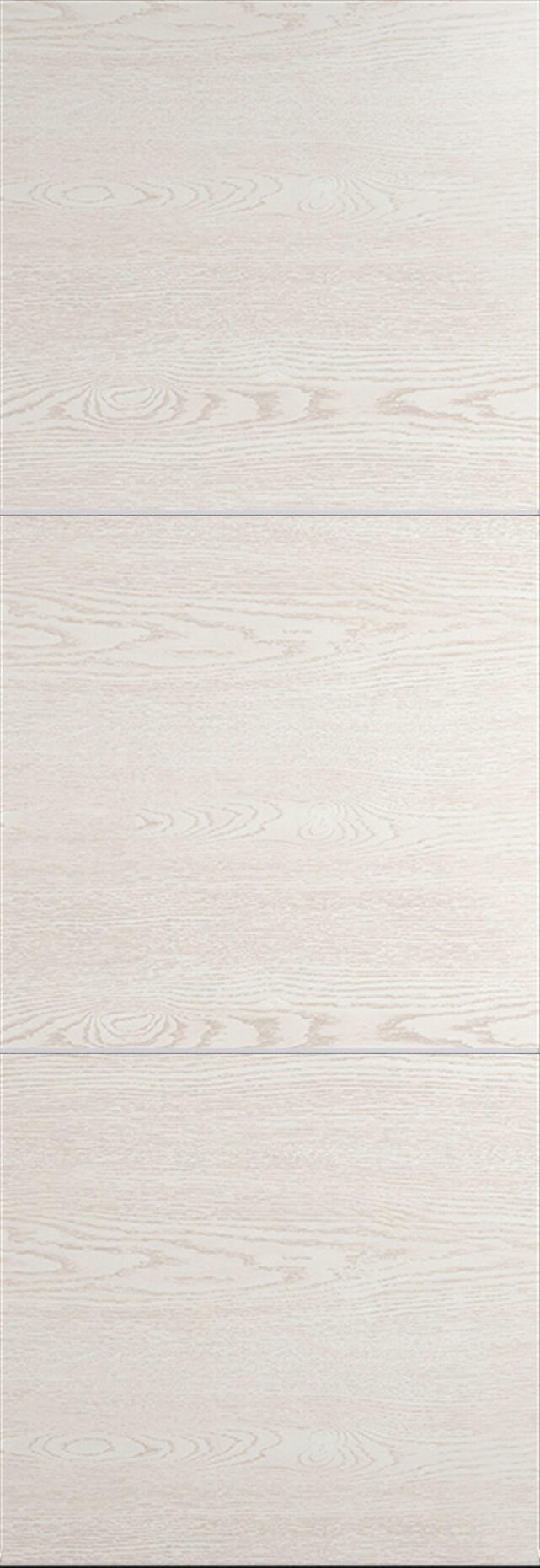 Tivoli В-3 Invisible цвет - Белый ясень Без стекла (ДГ)