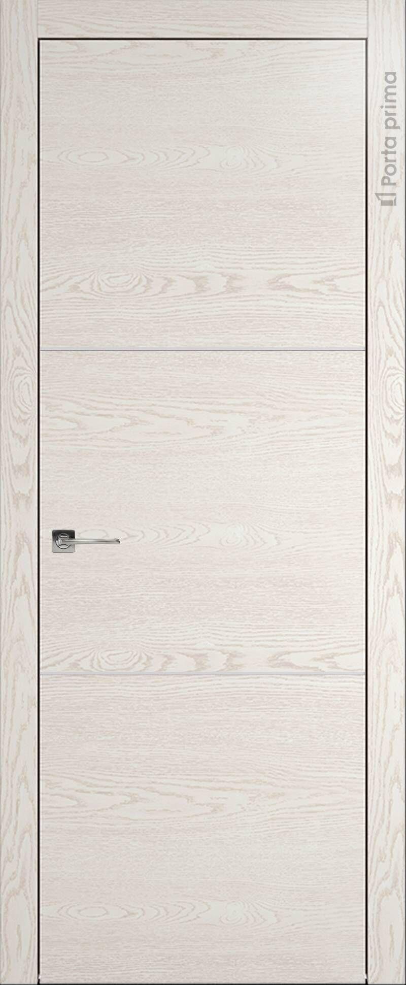 Tivoli В-3 цвет - Белый ясень (nano-flex) Без стекла (ДГ)