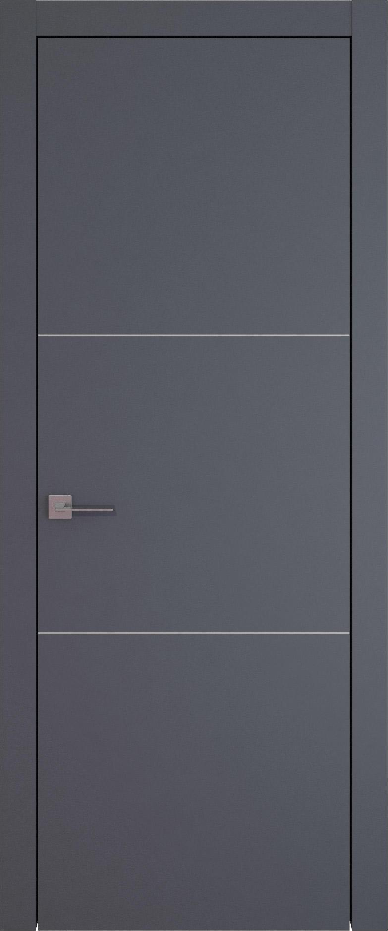 Tivoli В-3 цвет - Графитово-серая эмаль (RAL 7024) Без стекла (ДГ)