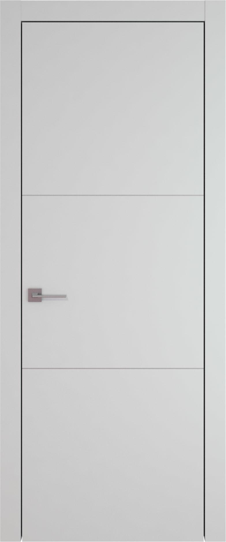 Tivoli В-3 цвет - Серая эмаль (RAL 7047) Без стекла (ДГ)
