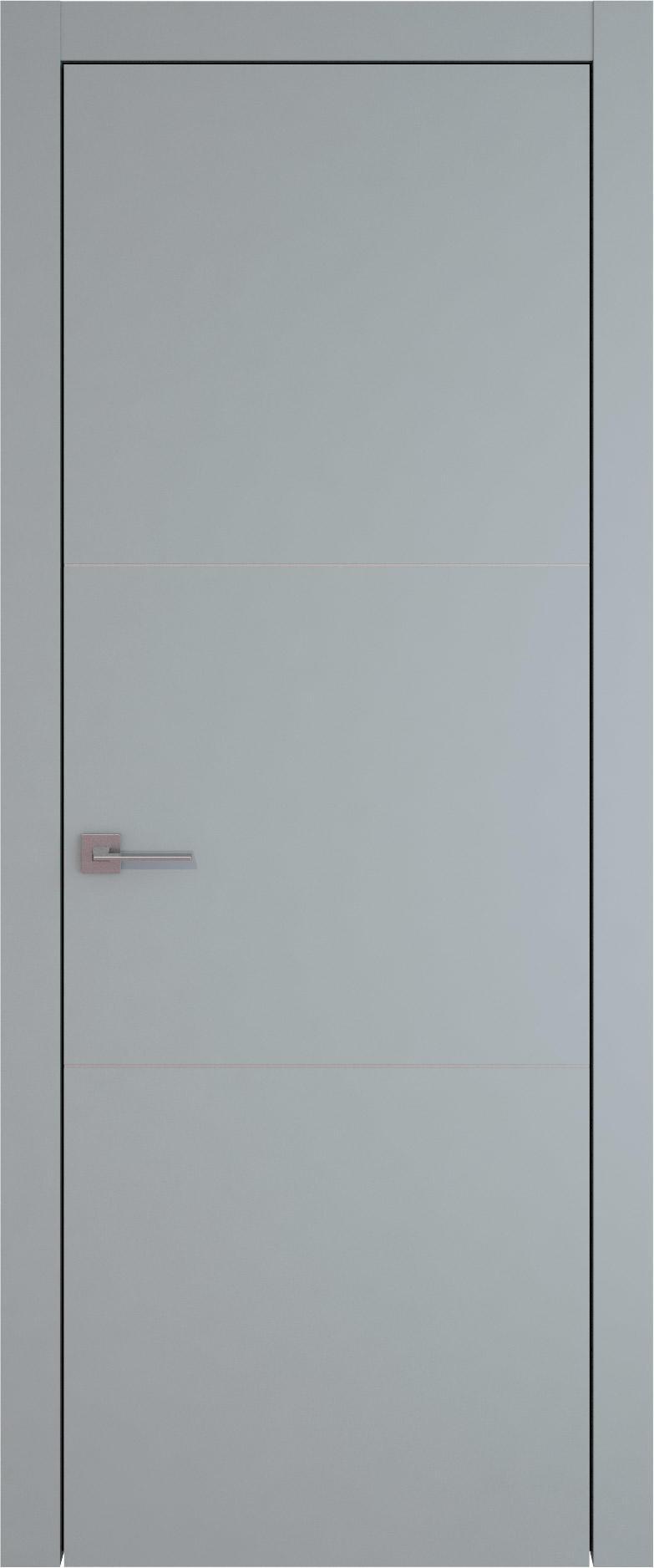 Tivoli В-3 цвет - Серебристо-серая эмаль (RAL 7045) Без стекла (ДГ)