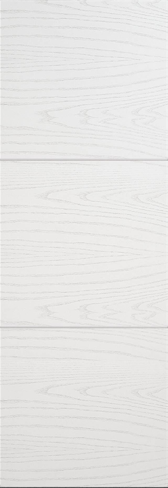 Tivoli В-3 Invisible цвет - Ясень белая эмаль Без стекла (ДГ)