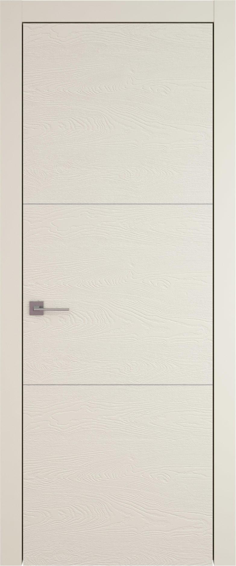 Tivoli В-3 цвет - Жемчужная эмаль по шпону (RAL 1013) Без стекла (ДГ)