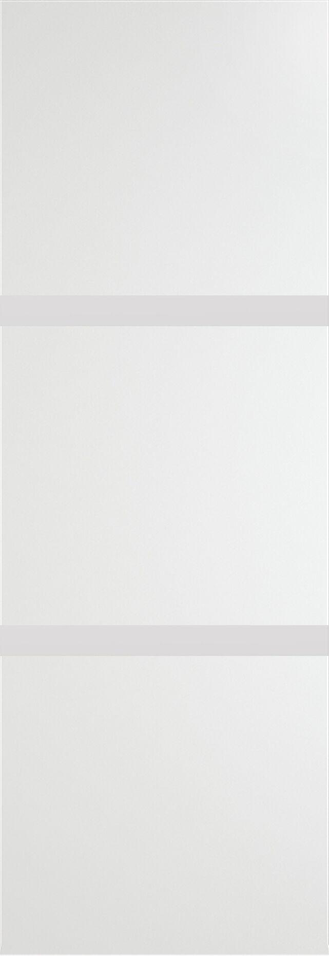 Tivoli В-4 Invisible цвет - Белая эмаль Без стекла (ДГ)