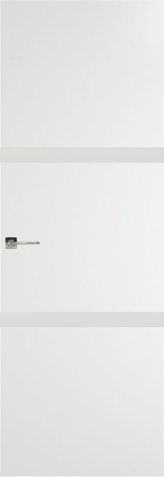 Tivoli В-4 Невидимка цвет - Белая эмаль Без стекла (ДГ)