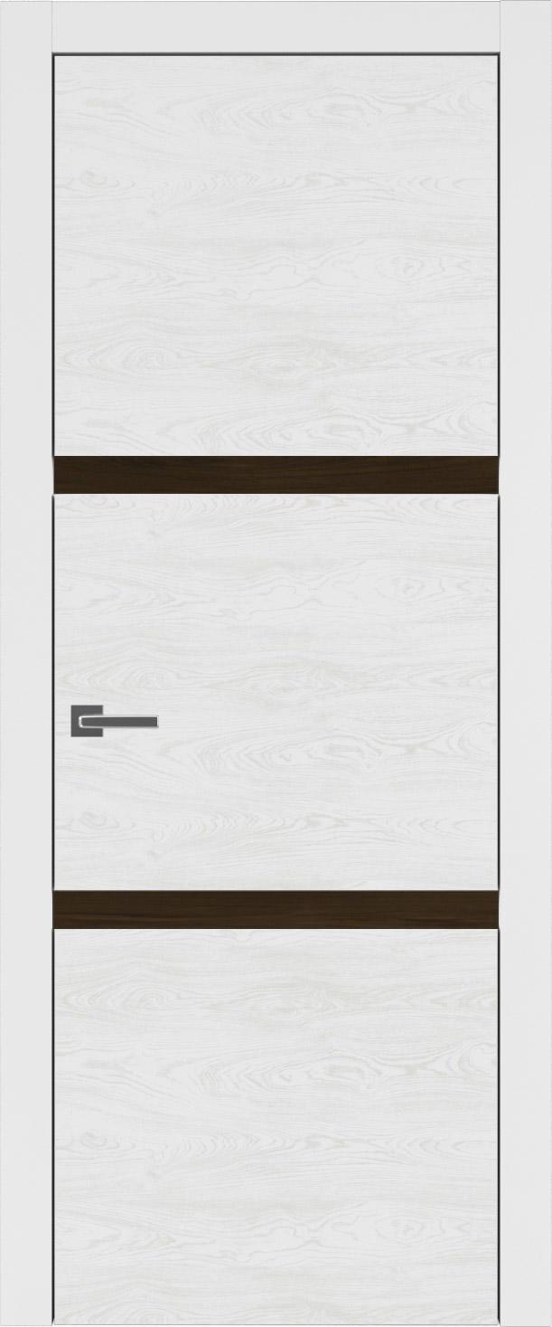 Tivoli В-4 цвет - Белая эмаль по шпону (RAL 9003) Без стекла (ДГ)