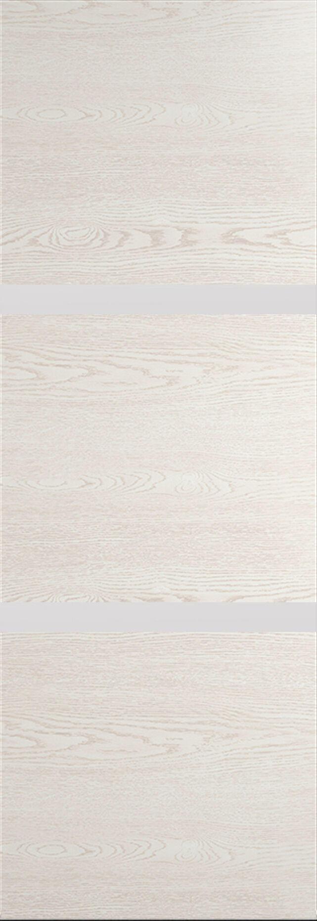 Tivoli В-4 Invisible цвет - Белый ясень Без стекла (ДГ)