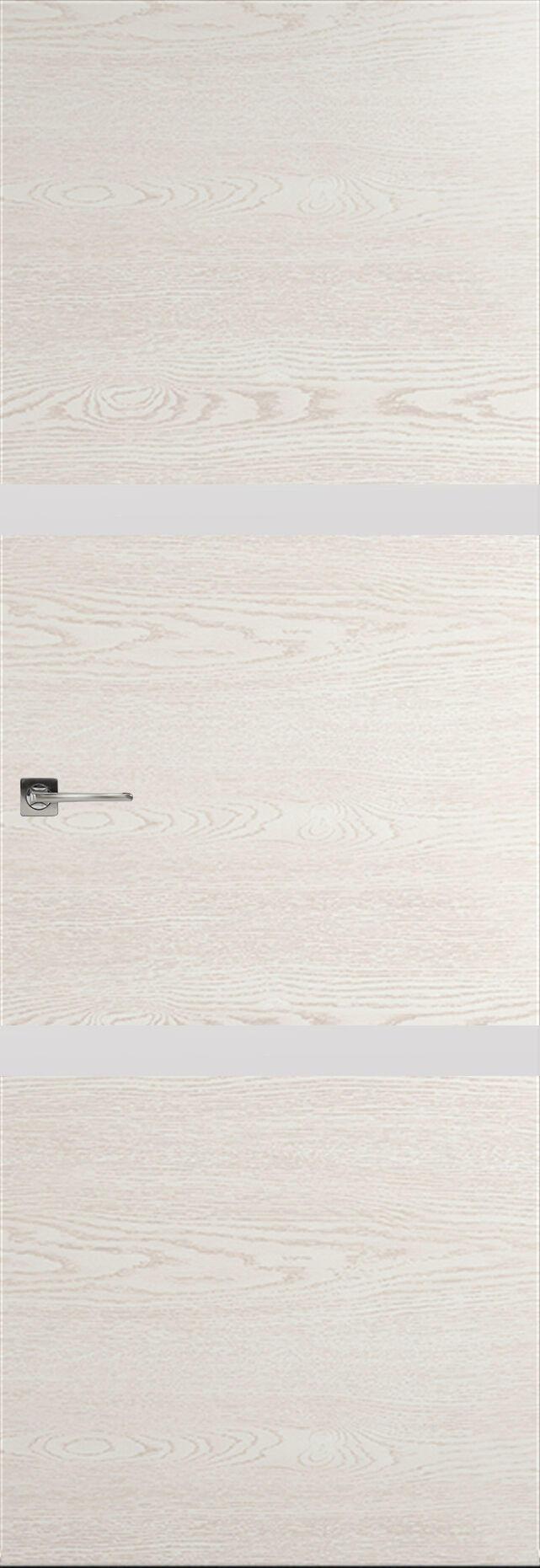 Tivoli В-4 Невидимка цвет - Белый ясень Без стекла (ДГ)