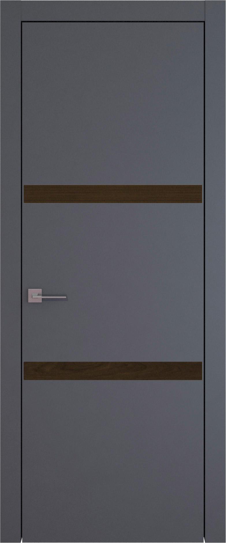Tivoli В-4 цвет - Графитово-серая эмаль (RAL 7024) Без стекла (ДГ)