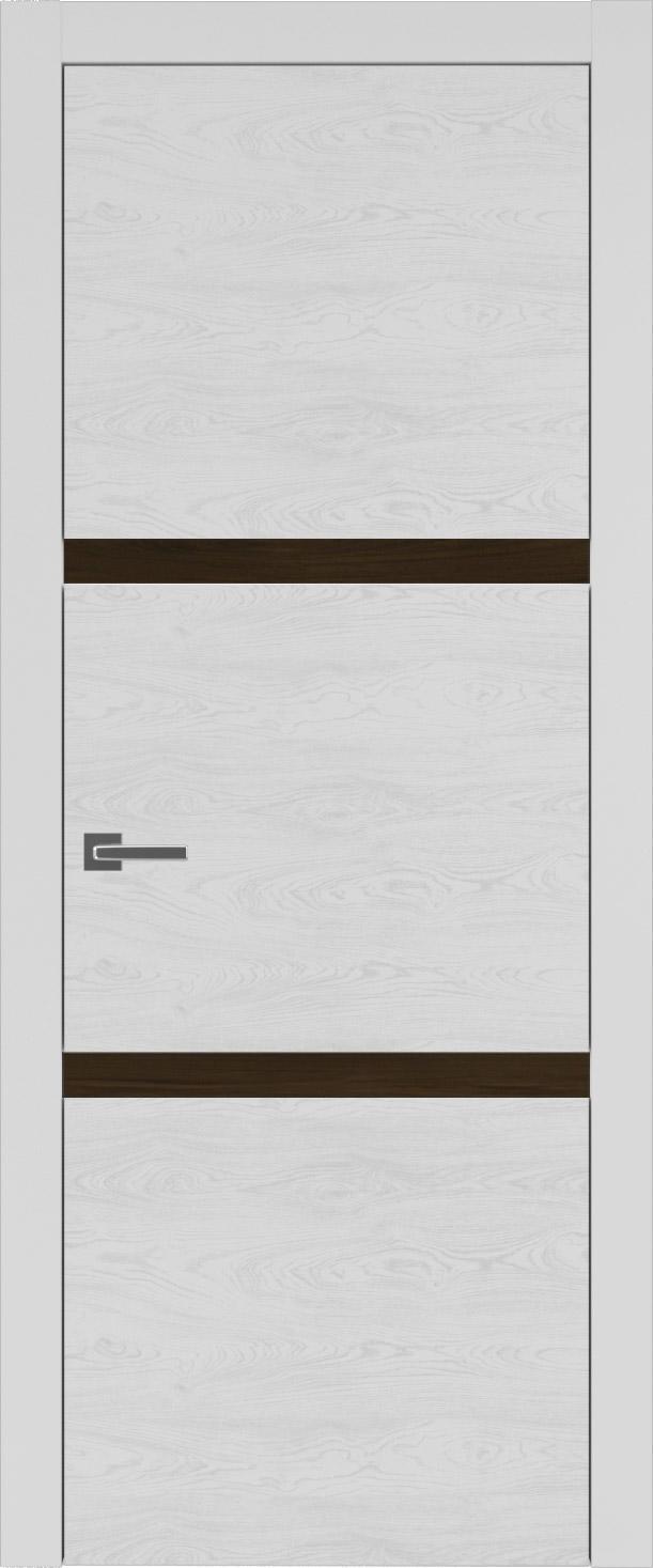 Tivoli В-4 цвет - Серая эмаль по шпону (RAL 7047) Без стекла (ДГ)