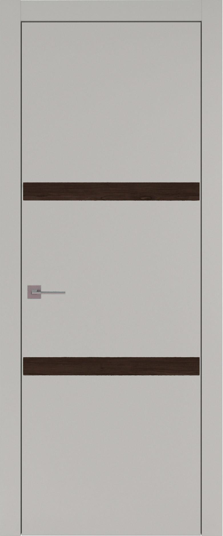 Tivoli В-4 цвет - Серая эмаль (RAL 7047) Без стекла (ДГ)