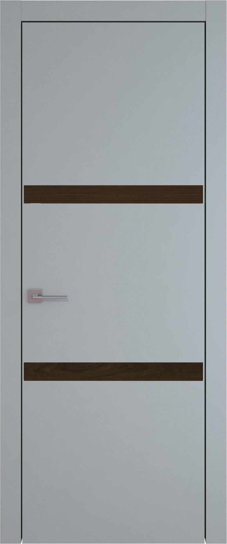 Tivoli В-4 цвет - Серебристо-серая эмаль (RAL 7045) Без стекла (ДГ)