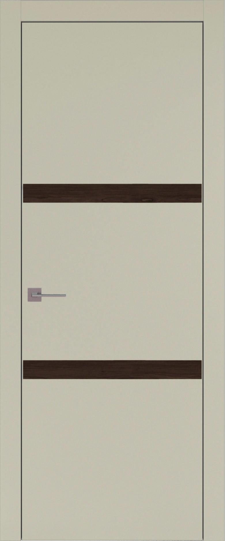 Tivoli В-4 цвет - Серо-оливковая эмаль (RAL 7032) Без стекла (ДГ)