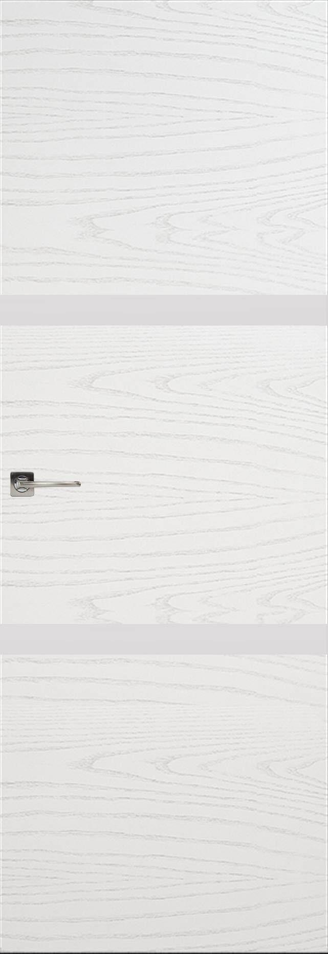 Tivoli В-4 Невидимка цвет - Ясень белая эмаль Без стекла (ДГ)