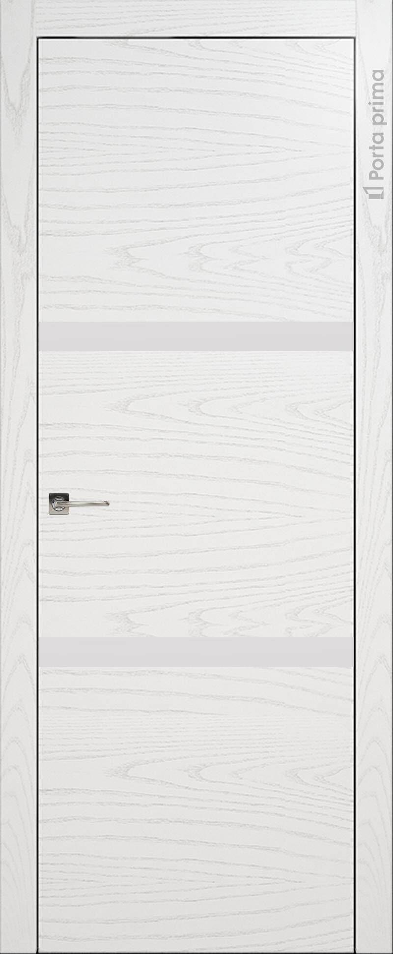 Tivoli В-4 цвет - Белый ясень (шпон) Без стекла (ДГ)