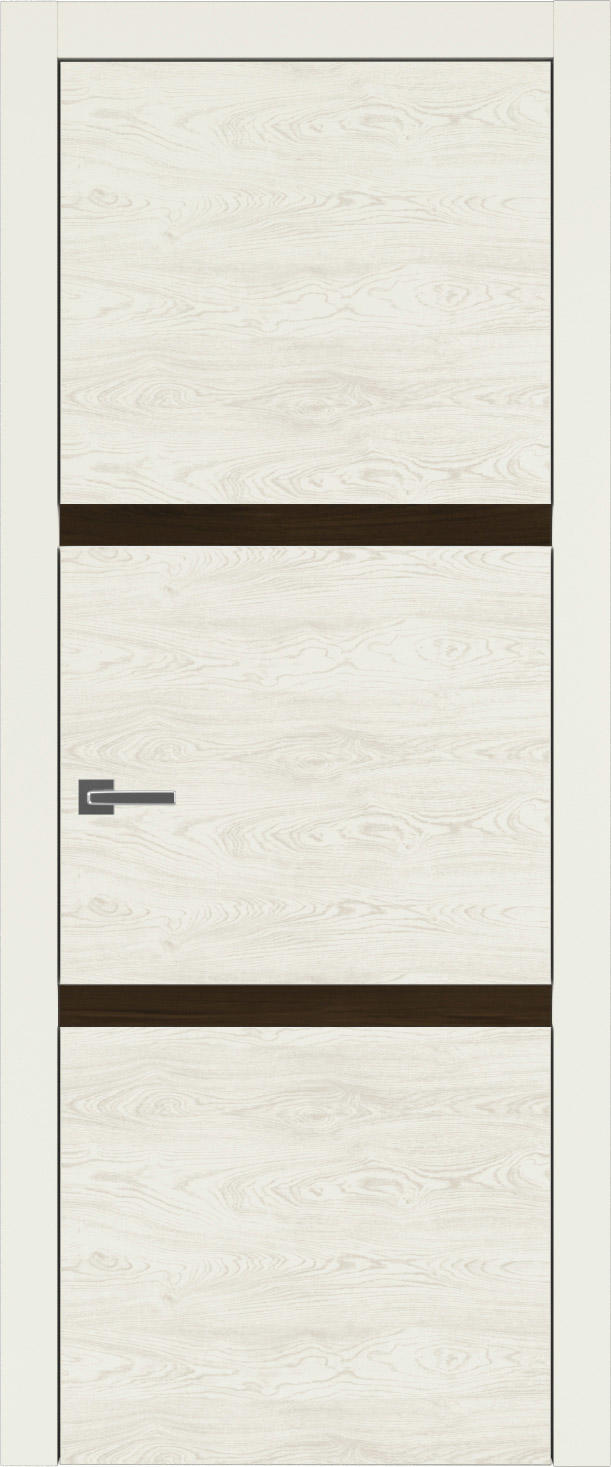 Tivoli В-4 цвет - Жемчужная эмаль по шпону (RAL 1013) Без стекла (ДГ)