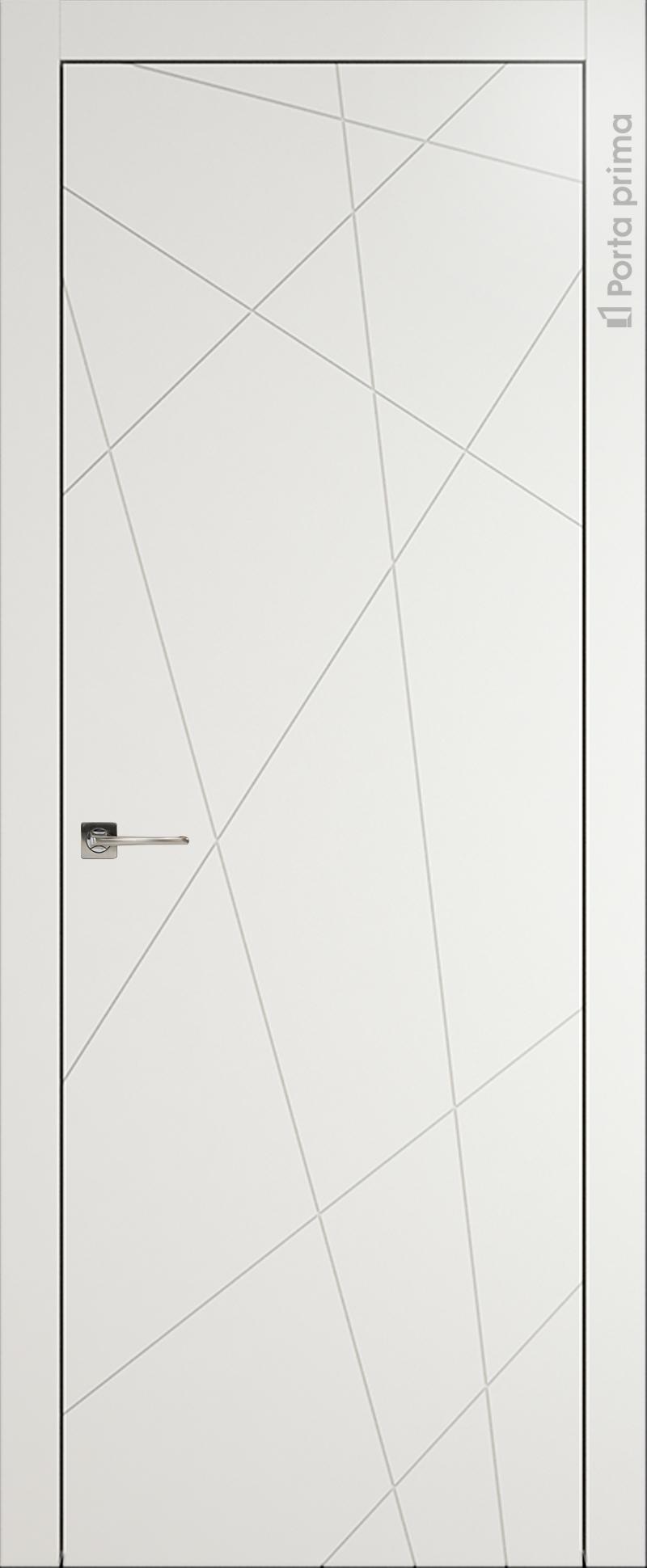 Tivoli В-5 цвет - Бежевая эмаль (RAL 9010) Без стекла (ДГ)
