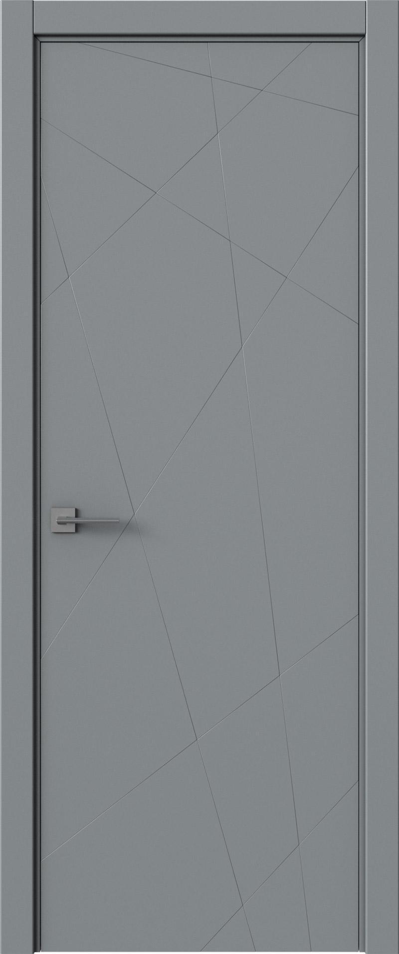Tivoli В-5 цвет - Серебристо-серая эмаль (RAL 7045) Без стекла (ДГ)