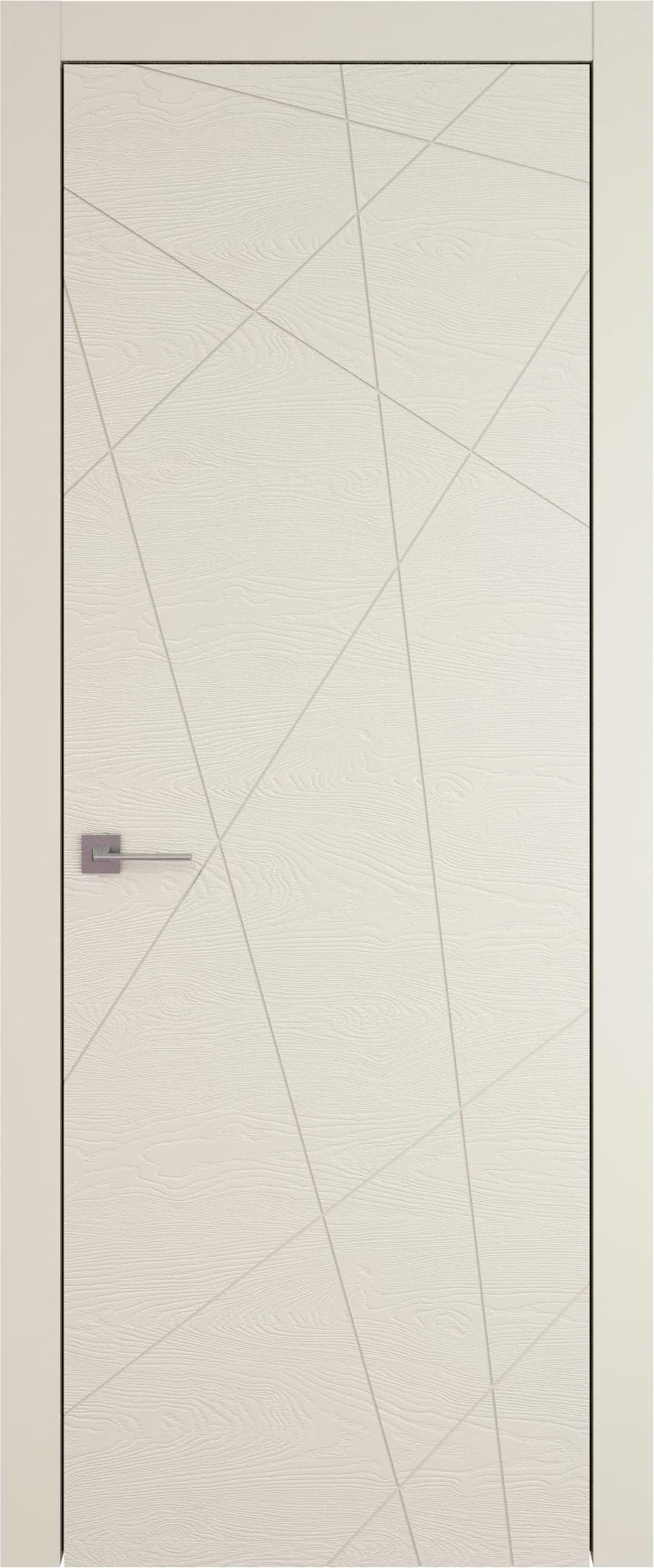 Tivoli В-5 цвет - Жемчужная эмаль по шпону (RAL 1013) Без стекла (ДГ)