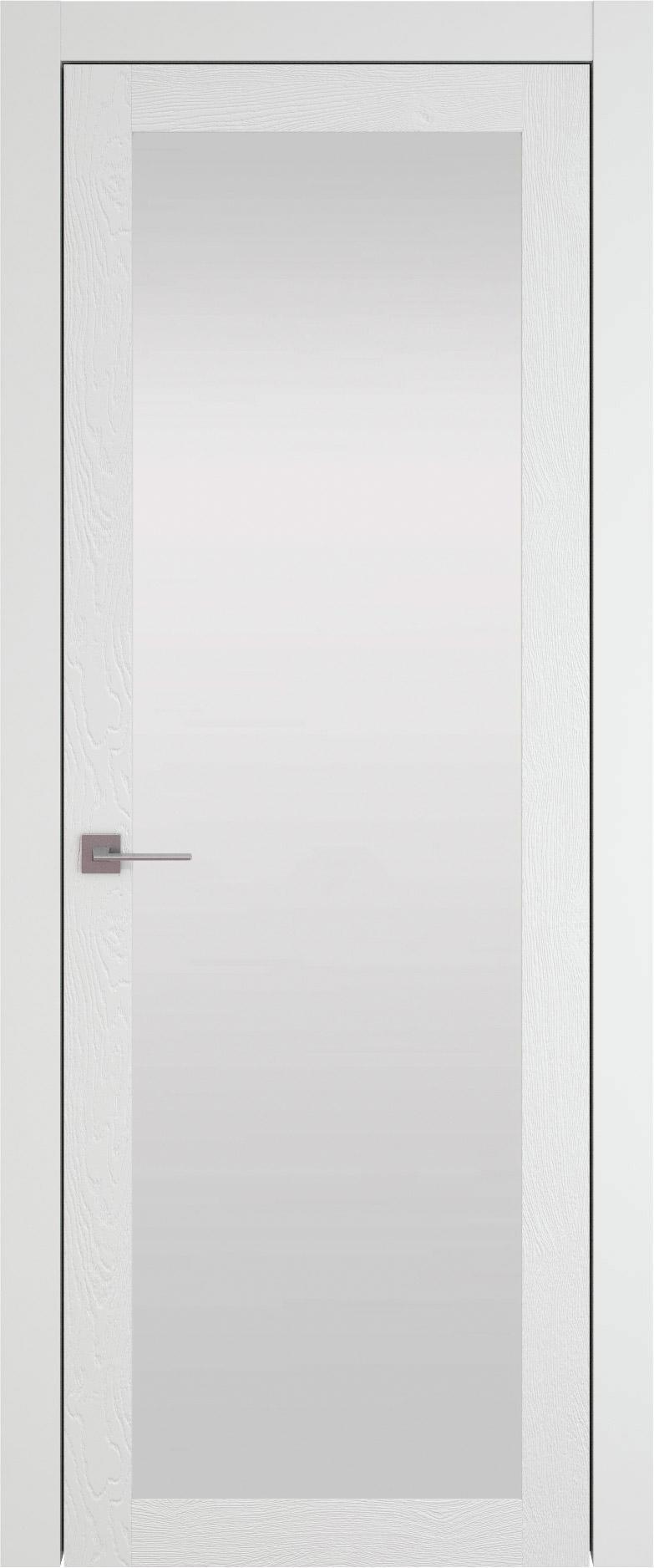 Tivoli З-1 цвет - Белая эмаль по шпону (RAL 9003) Со стеклом (ДО)