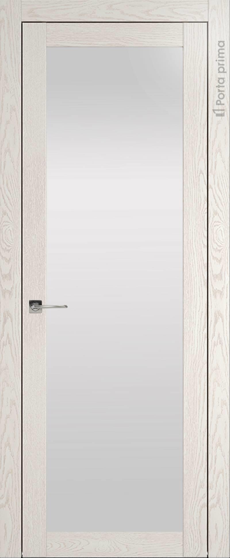 Tivoli З-1 цвет - Белый ясень (nano-flex) Со стеклом (ДО)