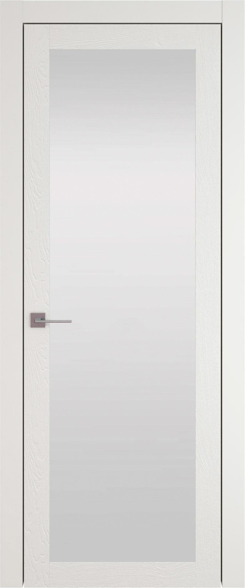 Tivoli З-1 цвет - Бежевая эмаль по шпону (RAL 9010) Со стеклом (ДО)