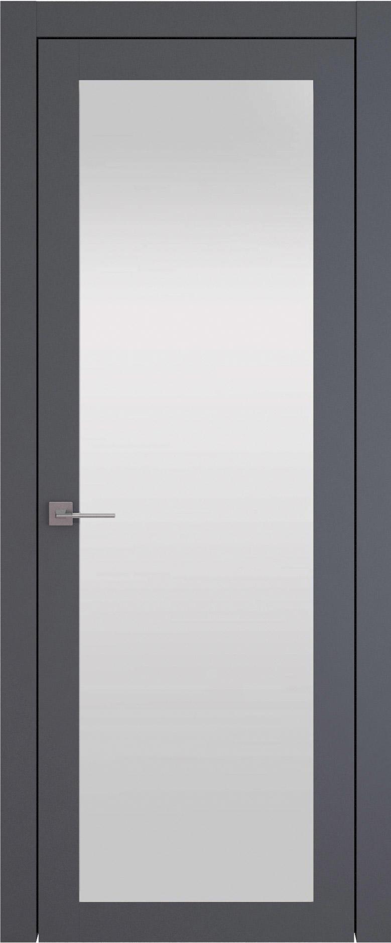 Tivoli З-1 цвет - Графитово-серая эмаль (RAL 7024) Со стеклом (ДО)