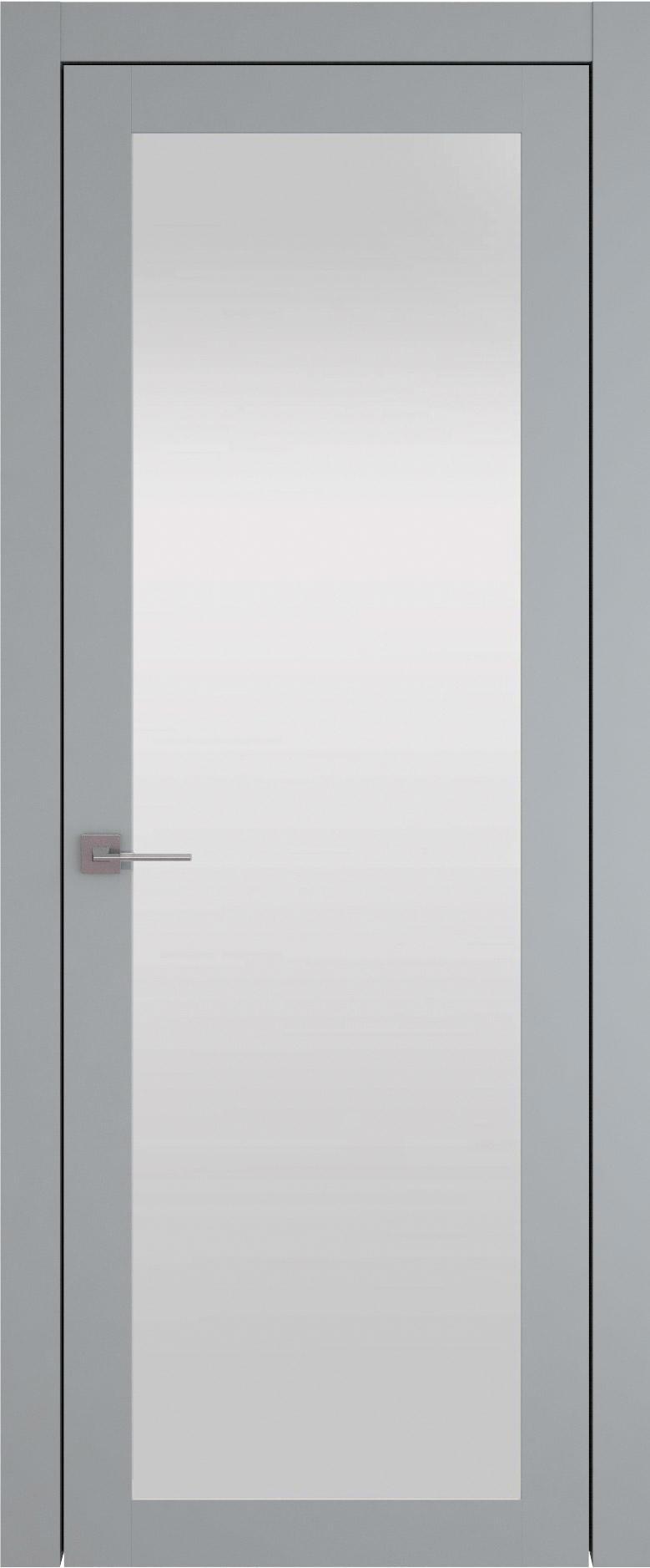 Tivoli З-1 цвет - Серебристо-серая эмаль (RAL 7045) Со стеклом (ДО)