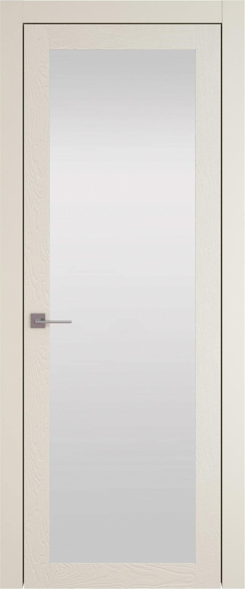 Tivoli З-1 цвет - Жемчужная эмаль по шпону (RAL 1013) Со стеклом (ДО)