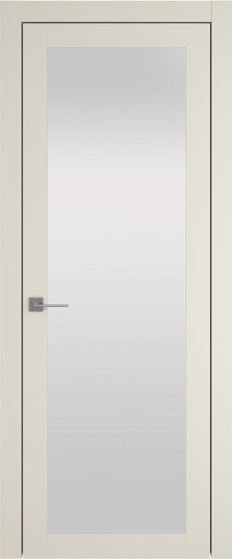 Tivoli З-1 цвет - Жемчужная эмаль (RAL 1013) Со стеклом (ДО)