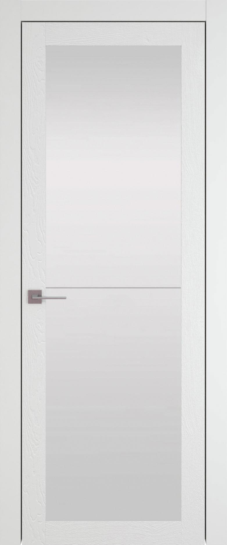 Tivoli З-2 цвет - Белая эмаль по шпону (RAL 9003) Со стеклом (ДО)
